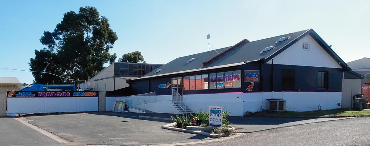 Kwikstripe Sign Shop Building 2020
